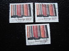 SUEDE - timbre yvert et tellier n° 2026 x3 obl (A29) stamp sweden (E)
