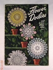 Flower Doilies - American Thread Company Book 64 - 9 Patterns