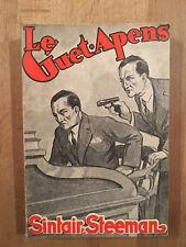 Steeman - Le guet-apens - Moorthamers - 1932 - Neuf non coupé - Dédicacé
