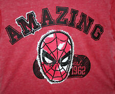 Marvel Comics Amazing Spider-Man Hoodie Hooded Sweat Shirt New 18 Youth XXL