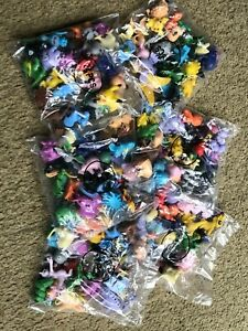 24 pcs Pokemon Small Toys Assorted Mix Action Figures Toys