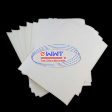 FREE SHIP 10x for Glass Cup Plate White Inkjet Waterslide Decal A4 Paper ZVOT552