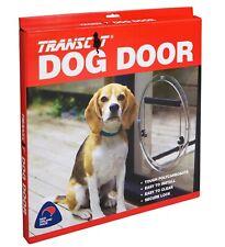Transcat Dog Door 4 Way Locking, Glass & Sliding Door Fit, Cats, Pets - Clear