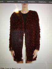 "Isabel Marant Abella Fringed Silk Coat---""Fabulous Coat"" Gorgeous in Person!"