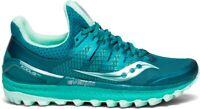 Saucony Women's Xodus ISO 3  Trail Running Shoes US Size 6 Green/Aqua
