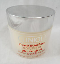 Clinique Deep Comfort Body Butter Moisturizing Cream 6.7 oz 200ml