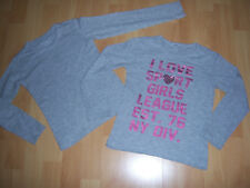 Lot de 2 tee-shirts ML gris fille 5-6 ANS