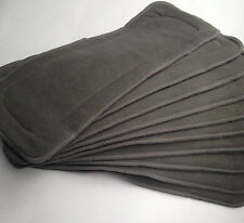 Soft Cloth Diaper Inserts Microfiber /Bamboo Charcoal Fiber Washable Reusable