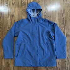 Patagonia Women's Cloud Country Blue Full Zip Rain Jacket, Size Large NWT $199