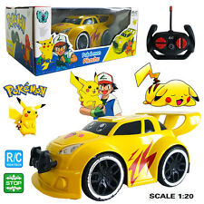 Pokemon Go Pikachu Electric RC Radio Remote Control Racing Car Kid Child Boy Toy