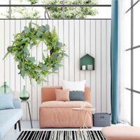 Artificial Vine Wedding Eucalyptus Garland Leaves Wreath Ring Natural Decor DIY