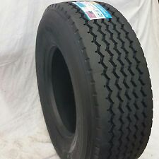 (2-Tires) 385/65R22.5 L/20 160K  Steer All Position Truck Tire LM-128 Long March
