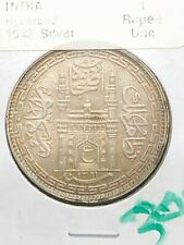 1942 - India - 1 Rupee - UNC - Hyderabad
