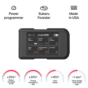 Subaru Forester tuning chip box power programmer performance race tuner OBD2