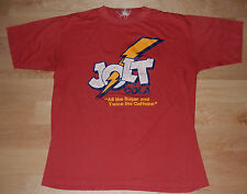 "Vintage 1980s JOLT COLA T-Shirt Sz Large 80s ""All The Sugar Twice The Caffeine"""