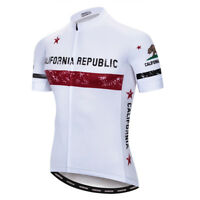 Men's Cycling Jersey Clothing Bicycle Sportswear Short Sleeve Bike Shirt Top F65
