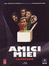 Blu Ray AMICI MIEI - La Trilogia - (3 Blu Ray) *** UGO TOGNAZZI *** ......NUOVO