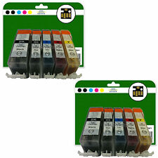 10 Ink Cartridges for Canon Pixma MX715 MX882 MX885 MX895 non-OEM 525-526