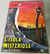 Giulio Verne - L'ISOLA MISTERIOSA - F. Caprioli - FAMIGLIA CRISTIANA (1973)