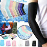 Unisex Stretch Long Sleeve Cycling Golf Arm UV Protection Sun Covers One Pair
