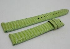 New Zenith 15mm Green Lizard Strap OEM Genuine
