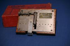 Ensign Popular film splicer for 16mm silent and sound film