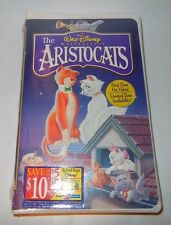 WALT DISNEY ANIMATED MASTERPIECE THE ARISTOCATS ON VHS NEW SEALED