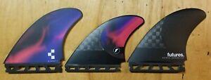 Future Rob Machado Pivot tri surf board fin set lightly used