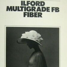 Ilford Multigrade FB Fiber Product Catalog USA Paperback 1983