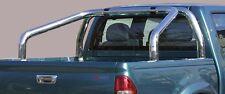 ROLL BAR SPONDE MISUTONIDA INOX D. 76MM 2 TUBI PER ISUZU D-MAX 4WD CREW 3.0 .