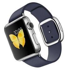 Apple Watch Stainless Steel 38mm Midnight Blue Modern Buckle Medium