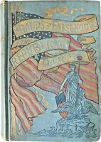 1892 FRAUDS & LIES OF REPUBLICAN PARTY Democratic DEMOCRAT Campaign US PRESIDENT