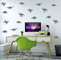 Dinosaur Wall Stickers Set Dino 25 Room Kids Vinyl Art Home Decor Plenty New