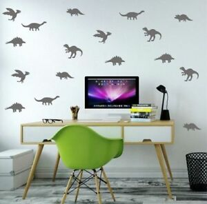 Dinosaur Wall Decal Pattern Dino Set25 Room Vinyl Art Home Decorations Removable