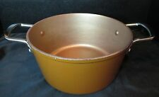 Cooks's Essentials 24 CM 5 Quart Bronz Color Inside & Out Weigh 5 1/2 Lbs+