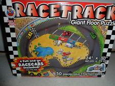 "Racetrack Giant Floor Puzzle Ages 4+ 24"" x 30"""