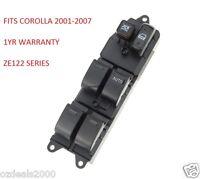 POWER WINDOW CONTROL MASTER SWITCH FOR TOYOTA COROLLA SEDAN/WAGON/HATCH  '01-'07