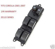 Toyota '01-'07 Corolla Sedan/Wagon/Hatch Master Power Window Control Main Switch