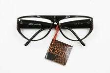 Sover eyewear italian frame, black and red details on arms // Vintage wrapping