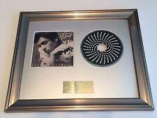 SIGNED/AUTOGRAPHED BRANDON FLOWERS - THE DESIRED EFFECT FRAMED CD PRESENTATION.