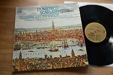 SCARLATTI Sonaten f. Cembalo GUSTAV LEONHARDT LP harmonia mundi 065-99615