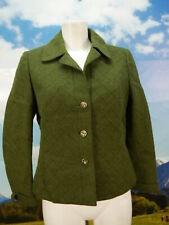 Neuwertig Resi Hammerer fesch grün leicht Loden Blazer Jacke Trachtenjacke Gr.40
