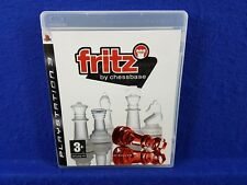 ps3 FRITZ CHESS By Chessbase Multiplayer Game PAL UK REGION FREE
