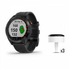 Abordagem Garmin S40 Preto De Aço Inoxidável Pacote Relógio De Golfe CT10 010-02140-03
