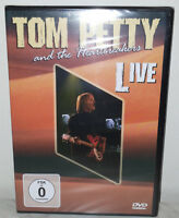 DVD TOM PETTY & THE HEARTBREAKERS - LIVE - NUOVO NEW