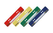 100 Stück Aktendulli Kösterstreifen Heftstreifen kurz 3,5x15 cm DIN A4+A5 bunt