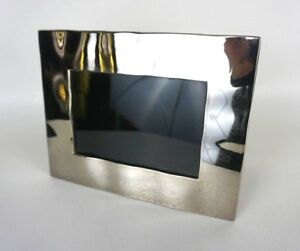 "Michael Aram Reflective Photo Frame 4"" x 6"" photo; 6.5"" W x 8.25"" *1024"