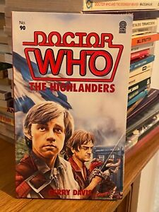 doctor who target book -  THE HIGHLANDERS - 1st edition