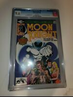 MOON KNIGHT #1 CGC 9.6 GEM * 1st IN HIS SERIES * KEY BEAUTY