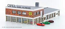 HS  Lemke Collection LC5031 Bausatz Autohaus Altmann inkl.4 Opel Record Spur N